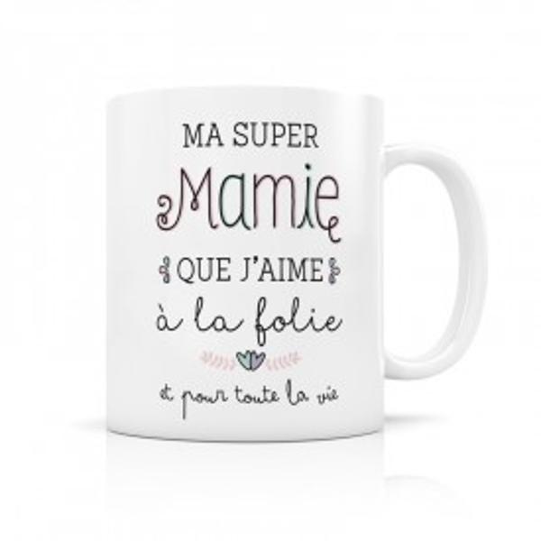 Image de 'Mug  - Ma super mamie'